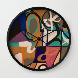 A Teal Dream Wall Clock