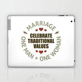 Celebrate Traditional Values Laptop & iPad Skin