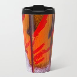 Abstract Sun Blast Travel Mug