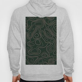 Green- Topographic map Hoody