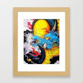 Japanese Dragon Framed Art Print