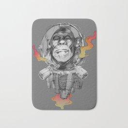 Space Monkey Bath Mat