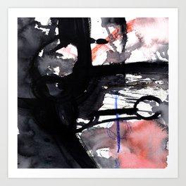 Brush Journey 9f by Kathy Morton Stanion Art Print