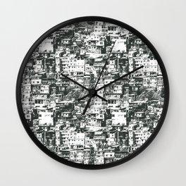 Favela Wall Clock