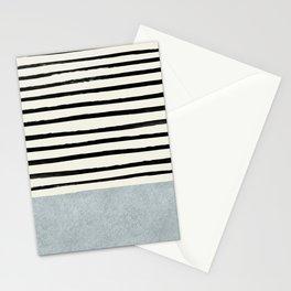 Silver x Stripes Stationery Cards