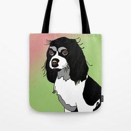 King Charles Spaniel Dog Tote Bag