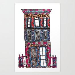 NOLA Townhouse Art Print