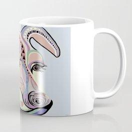 Jack Russell Terrier in Denim Colors Coffee Mug