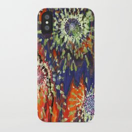 Induced Cosmic Revelations (Four Dreams, In Mutating Cycle) iPhone Case