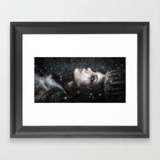 In the Dark of Winter Framed Art Print