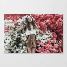 Emily in Reverie Canvas Print