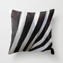 Zebra Skin Throw Pillow