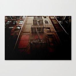 manhattan alley Canvas Print