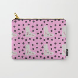 deer boots pink grey Carry-All Pouch