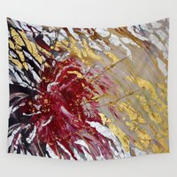 passion Wall Tapestries featuring Passion by Oksana Davyda