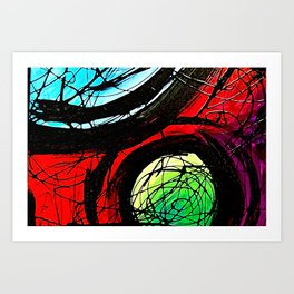 The Intersect Art Print