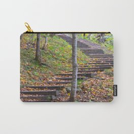 Stairway into the Woods Carry-All Pouch