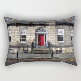 Building New Town Edinburgh Rectangular Pillow