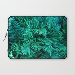 Fern Photography | Emerald | Turquoise |Tropical Leaves | Art Print Laptop Sleeve