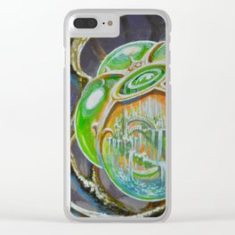 """""""Internal Paradise"""" by Adam France Clear iPhone Case"""