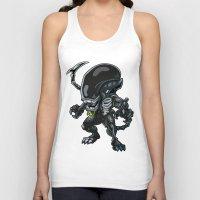 alien Tank Tops featuring Alien by 7pk2 online