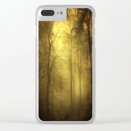 veiled trees Clear iPhone Case