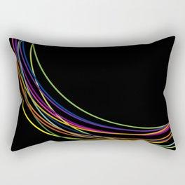 color circles Rectangular Pillow
