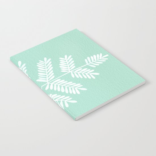 Mint Leaflets Notebook