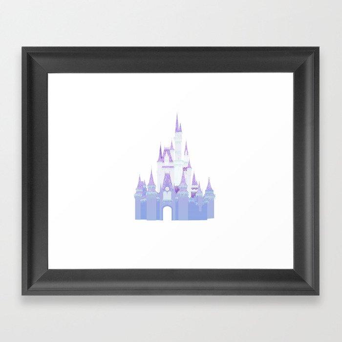 Christmas Castle 2 Gerahmter Kunstdruck