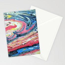 Suminagashi 10 Stationery Cards