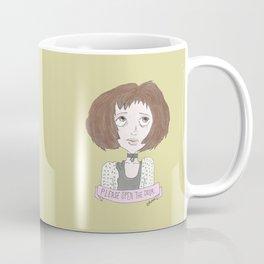 Mathilda is asking you to open the door...  Coffee Mug