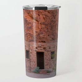 CCC Cabins-1, Valley of Fire State Park, Nevada Travel Mug