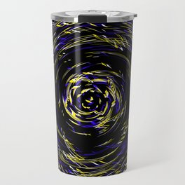 Hurricane ..Team colors blue /yellow Travel Mug
