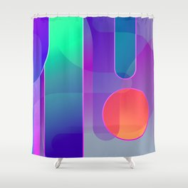 Future Dreams Shower Curtain