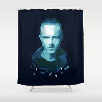 jesse pinkman Shower Curtains featuring Jesse Pinkman by Dr.Söd