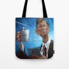 Bill Gates Tote Bag
