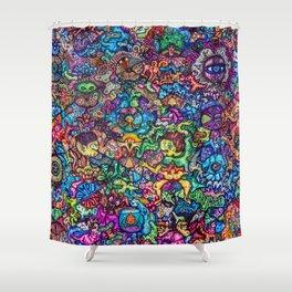 Seemingly Random Tendencies Shower Curtain