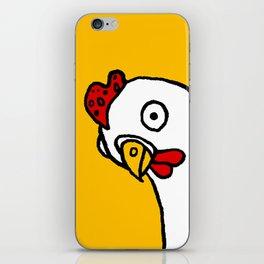 Chicken Dos Cabezas iPhone Skin