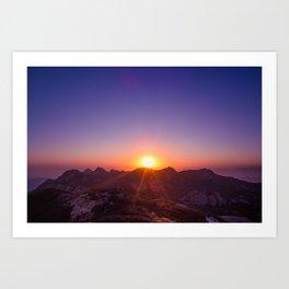 The Day The Sun Stood Still Art Print