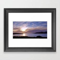 Trawenagh Bay 2 Framed Art Print
