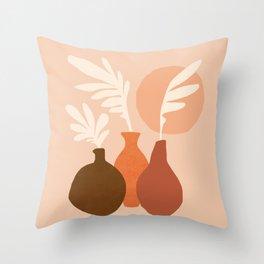 Abstraction_Still_Life_Bohemian_Minimalism_002 Throw Pillow