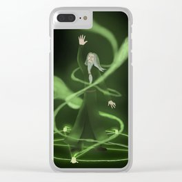 Summoning Ritual Clear iPhone Case