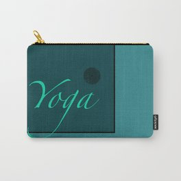 Yoga Blue Carry-All Pouch