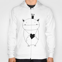 Scandinavian style bat illustration Hoody