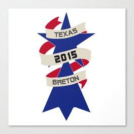 Texas Breton Canvas Print