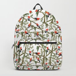 Gallitos de las rocas // Peruvian national bird gathering Backpack