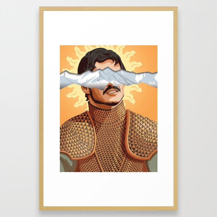 The Prince of the Sun - WORDLESS Framed Art Print