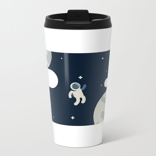 The Astronaut Metal Travel Mug