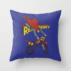 Redundancy Throw Pillow