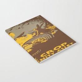 Vintage poster - Game Crop Notebook